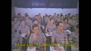 Eu te amo meu Brasil, brazilian nationalist song