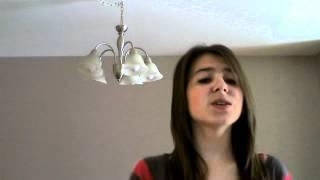 Vidéo de Shella Borris-Leclerc .. Cover ' Le plus fort c'est mon père ' :)