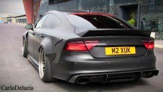 """Audi """"RS7"""" TDI INSANE Launch Controls!"""
