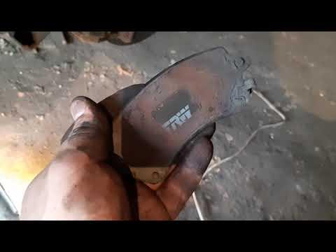 Замена передних тормозных колодок Chery Eastar 2.0