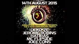Jungle Funk Recordings 3 Year Anniversary Party live from Coda Nightclub (August 14, 2015)