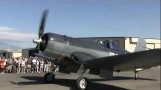 Corsair engine start close up