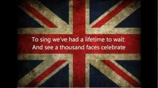Sing Lyrics - Gary Barlow and The Commonwealth Band (ft The Military Wives)
