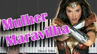Mulher Maravilha- tema Piano/Teclado(Synthesia)