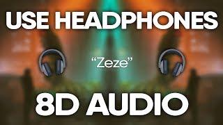 Kodak Black, Offset, Travis Scott – Zeze (8D Audio) 🎧