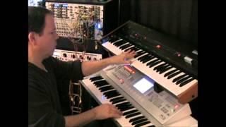 Vangelis Blade Runner opening theme KORG M3 and Omnisphere