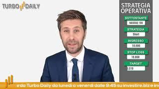 Turbo Daily 17.07.2020 - con trimestrali possibile short Nasdaq