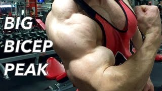 THE BICEP WORKOUT THAT MADE MY PEAK HUGE
