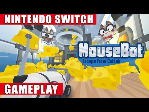 WTFF::: MouseBot: Escape From CatLab footage