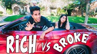 Rich Boyfriend Vs. Broke Girlfriend