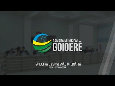 Vídeo na integra da sessão desta segunda-feira, 03, da Câmara Municipal de Goioerê