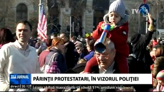 Val de reclamaţii împotriva părinţilor care şi-au dus copiii la protestele din Piaţa Victoriei