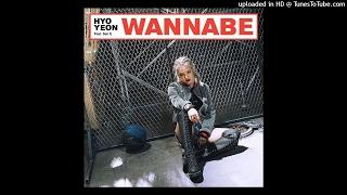 효연 (HYOYEON) – Wannabe (Feat. San E) (Instrumental)