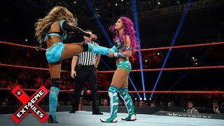 Sasha Banks and Alicia Fox throw down with reckless abandon: WWE Extreme Rules 2017 (WWE Network)
