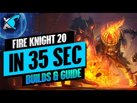FIRE KNIGHT 20... IN 35 SEC !!! | Champion Builds & Guide | RAID: Shadow Legends