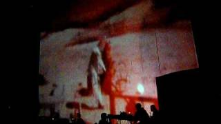 Throbbing Gristle - Ricardo Montalban Theater LA 4-21-09 Jarman film pt 3