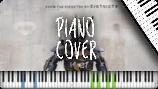 """""""Chappie Main Theme"""" [Synthesia] by TH (Piano Cover)"""