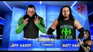 JEFF HARDY ENTRANCE WWE 2K18 (WITH 2002 TITANTRON AND LOADED EDIT VERSION THEME)