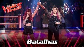 Dri e Isa Guerra cantam 'Fucking Perfect' nas Batalhas - The Voice Brasil | 7ª Temporada