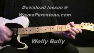Wooly Bully The Ventures - Guitar Lesson + Backing Track