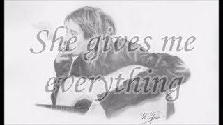 Kurt Cobain - And I Love Her - Lyrics