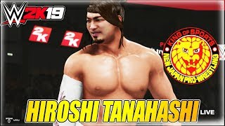 WWE 2K19 HIROSHI TANAHASHI ENTRANCE, SIGNATURE & FINISHER