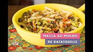 Receita - Massa ao Molho de Ratatouille