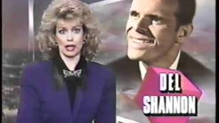 Headline News - on the Death of Del Shannon - Feb., 1990!