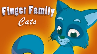 Funny Cat Song Finger Family English Nursery Rhymes Kitty Baby TV