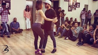 Cornel and Rithika | Bachata Sensual | Miggy Migz - How you gonna act like that | Bachata remix