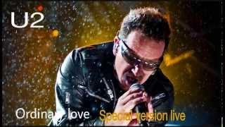 U2 - Ordinary Love - Special Version Live