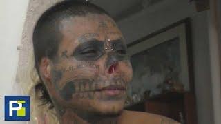 Se quitó la nariz, se recortó las orejas y se hizo una lengua de serpiente: quiere ser una calavera