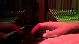 """The End"" Jayk  Burcyk piano studio recording"
