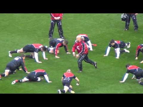 England Warm Up – vs South Africa Twickenham