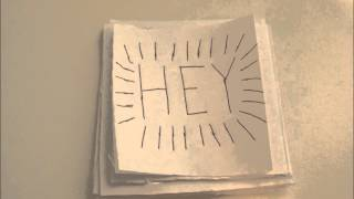 Ho Hey - The Lumineers (stop-motion lyric video)