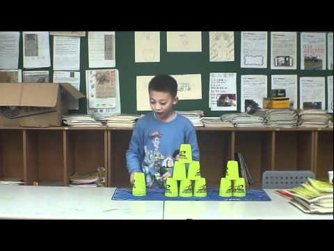 疊杯教學-第一階段 - YouTube