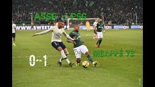 AS Saint-Etienne - Paris SG 0-1 Le résumé