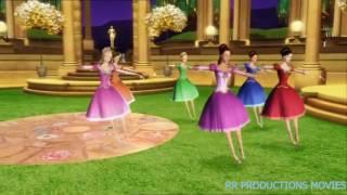 Ballet das Princesas - Barbie em as 12 Princesas Bailarinas #BarbieDance
