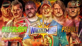 WWE | Wrestlemania 33 | GreenLight | Theme Song | AE+Arena Effects 2017 | By Pitbull