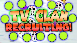 Agario TV CLAN RECRUITING! + Awesome gameplay (CANCELLED)