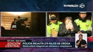 Policía decomisa gran cantidad de droga en edificio de San Isidro
