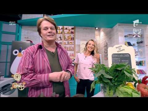 """""""Grădina mea"""", o ciorbiță delicioasă din verdețuri"""