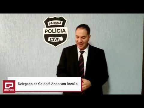 Delegado de Goioerê Anderson Romão fala sobre tráfico de drogas e arremesso de celulares na cadeia