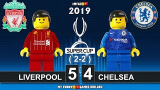 Uefa Super Cup 2019 • Liverpool vs Chelsea 2-2 PEN (5-4) 🏆 All Goals Highlights Lego Football Film