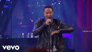 John Legend - Used To Love U (Live on Letterman)