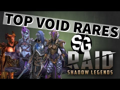 [RAID SHADOW LEGENDS] TOP VOID RARES