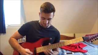 """Through The Fire And The Flames"" Dragonforce Guitar Solo Cover by Richi Carter"