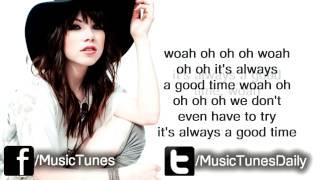 Owl City - Good Time (LYRICS) feat. Carly Rae Jepsen