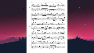 [Sheet Music - Easy Version] TheFatRat - Monody (feat. Laura Brehm) - Piano Cover by Kim Hoàng Huy