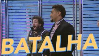 Batalha de Rap - Tatá Werneck + Naldo Benny - O Estranho Show de Renatinho - Humor Multishow